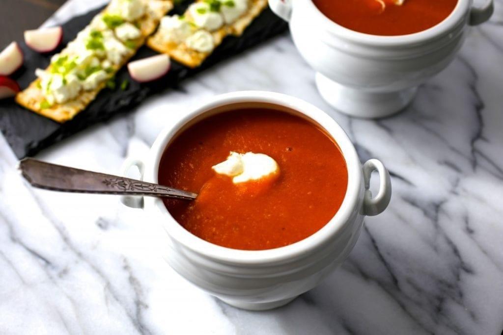 Easy, Delicious Tomato Soup