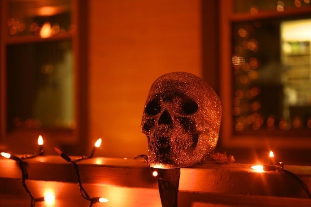 Skulls! And glitter!