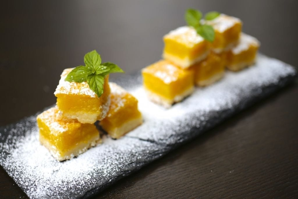 Seriously Lemony Lemon Bars