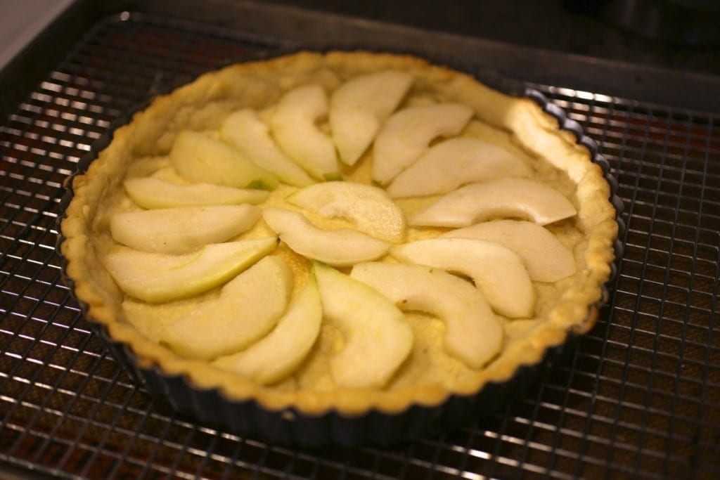 Custard Tart with Pear and Ginger