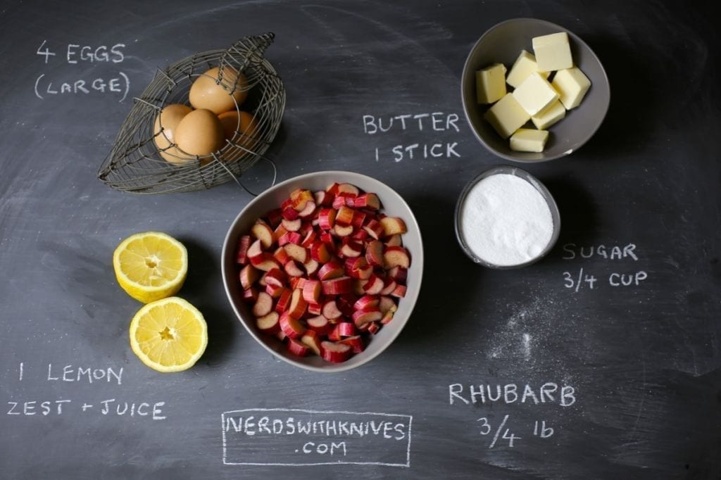 Rhubarb Lemon Curd