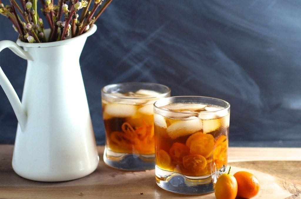 Kumquat-Ginger Smash