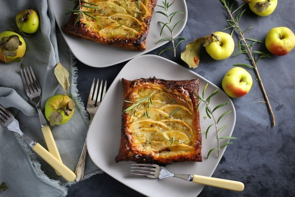 Thanksgiving recipes: Apple Tarts with Rosemary-Lime Sugar