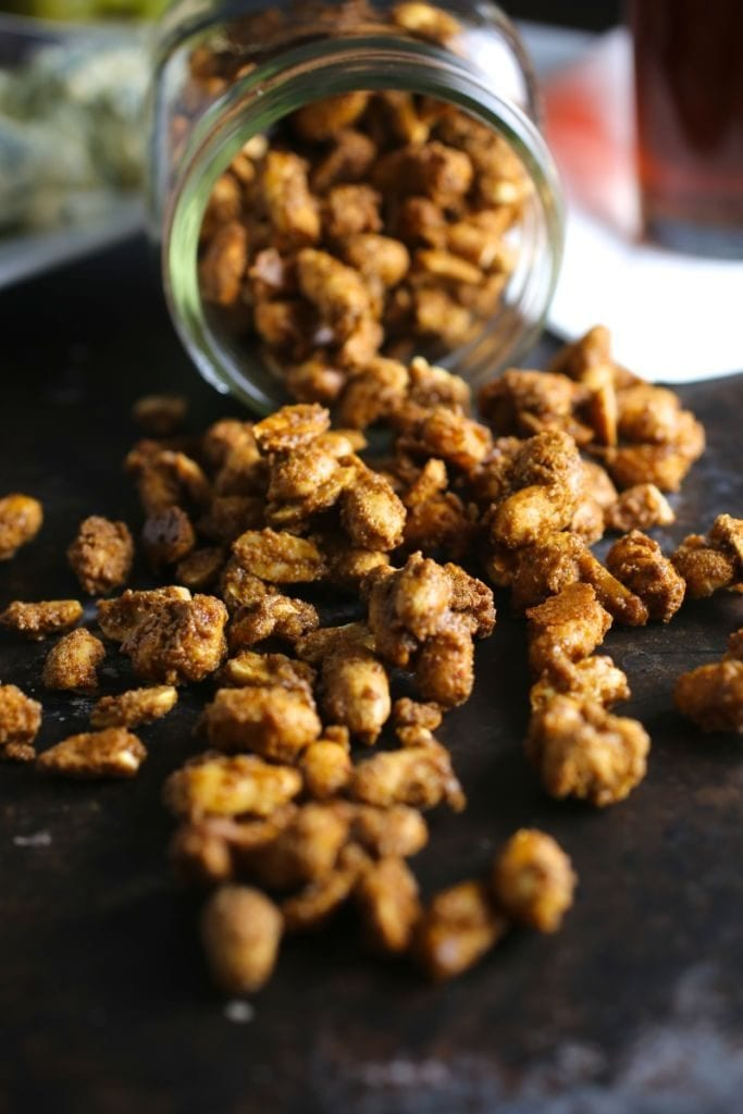 Sweet and Spicy Candied Peanuts