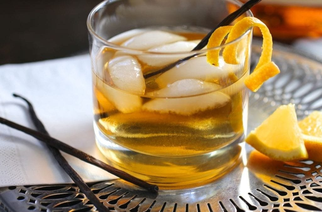 Our other winter warmer: Vanilla Old Fashioned