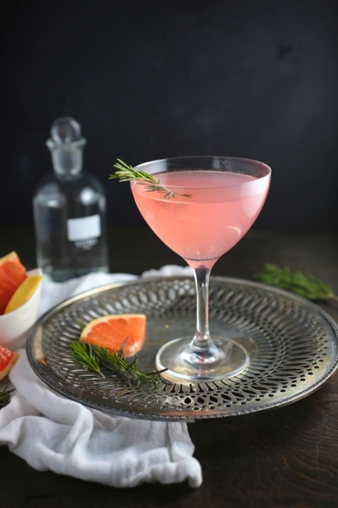 The French Tart - Grapefruit and Rosemary Cocktail
