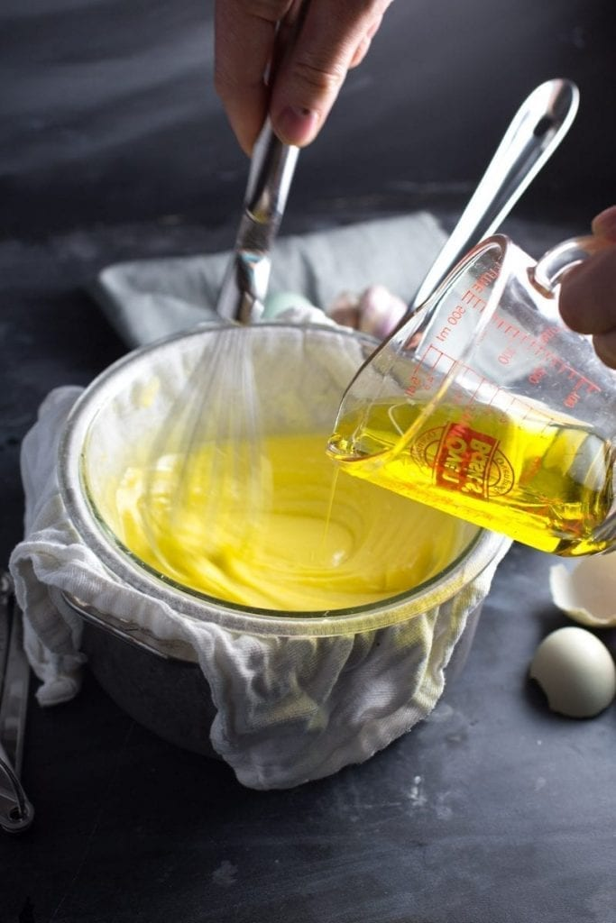 Creamy, Homemade Aïoli (Garlicky, Lemony Mayo)