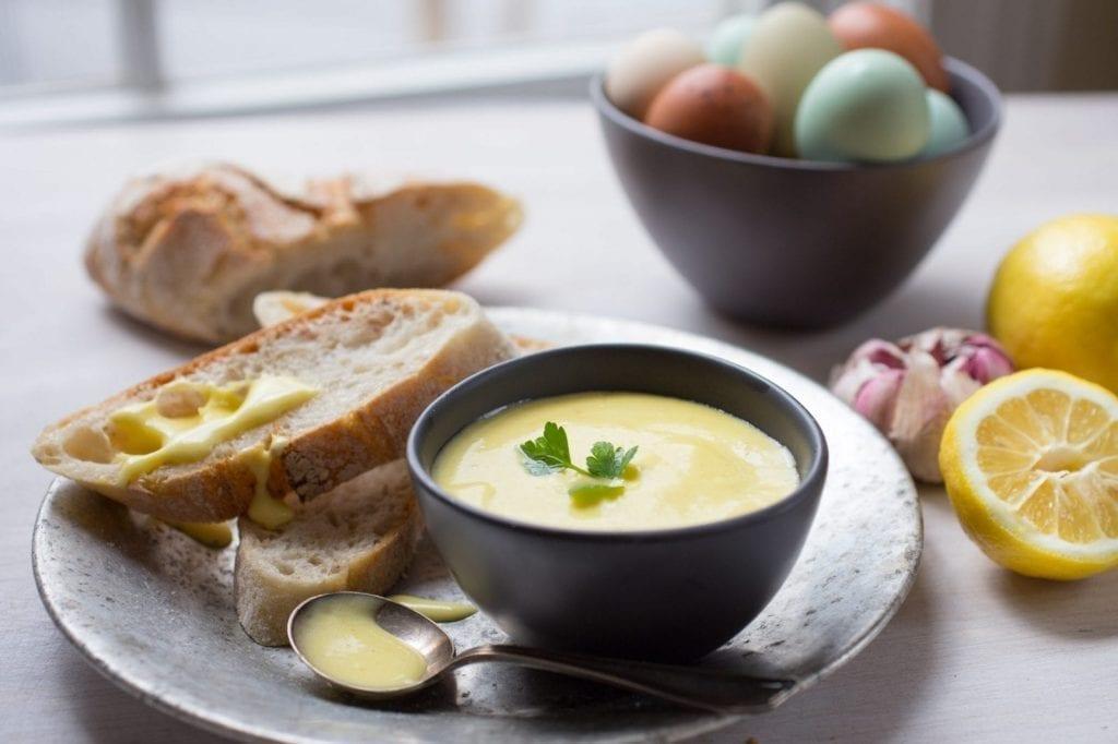 Creamy, Homemade Aioli (Garlicky, Lemony Mayo)