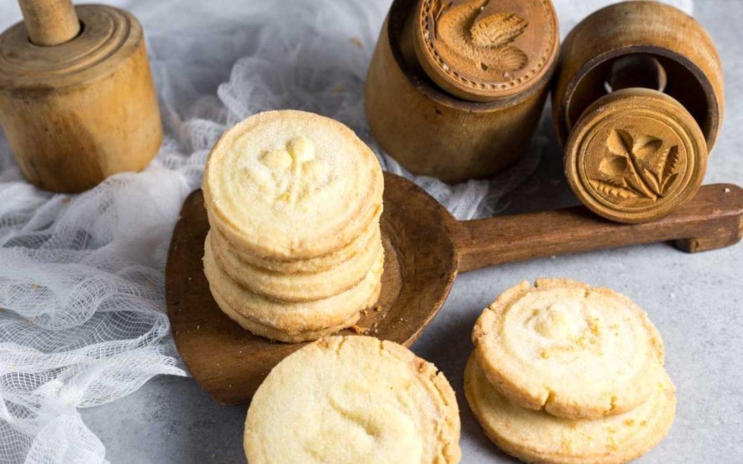Rustic Shortbread Biscuits (or Cookies)