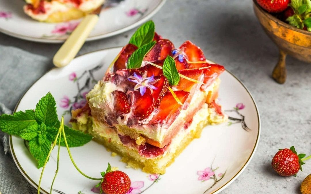 Strawberry Lemon Tiramisu