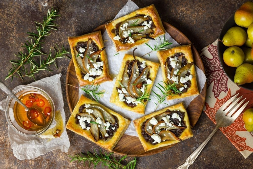 Christmas with Pear Tarts