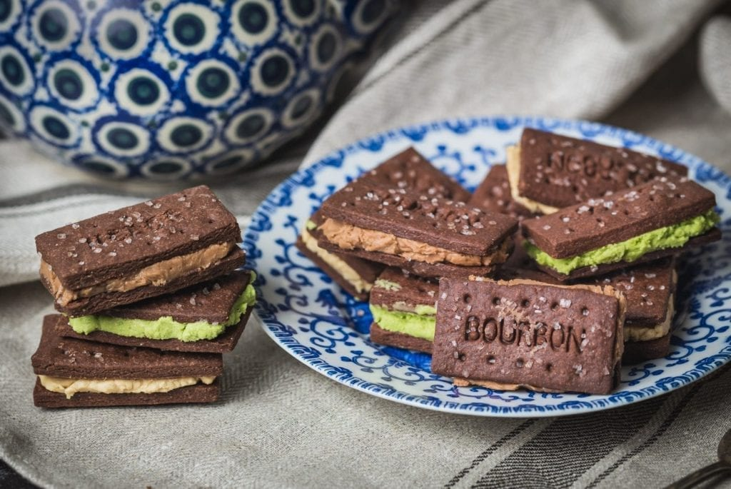 chocolate Bourbon biscuits