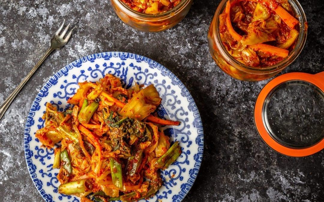 Easy Home-made Kimchi