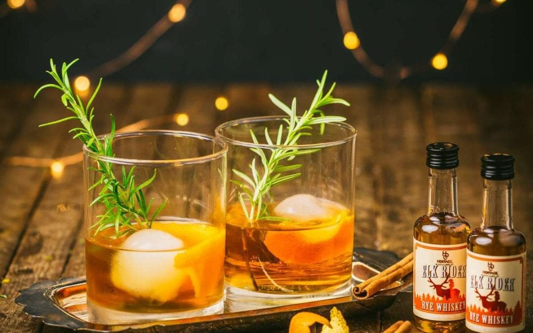 Spiced Rosemary Old-Fashioned